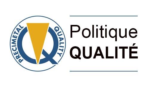 Politique qualité - Déclaration de la Direction